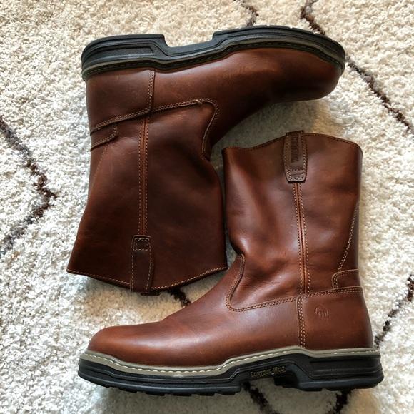 dabea74b5a6 Wolverine Raider 10'' Wellington Work Boots